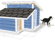 lämpöeristetty koirankoppi MITTEL -4
