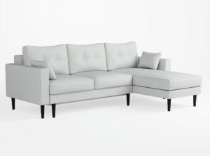 Mikrokuitukangas sohva