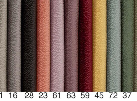 Sohvan värin valinta värikartta