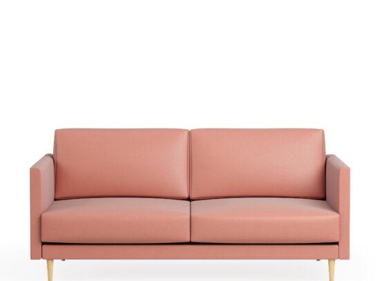Vaaleanpunainen pinkki sohva