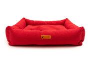 harmaa – punainen peti-135