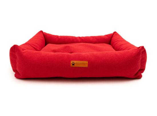 harmaa - punainen peti-135
